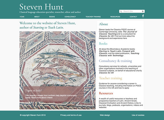 steven hunt classics website home page