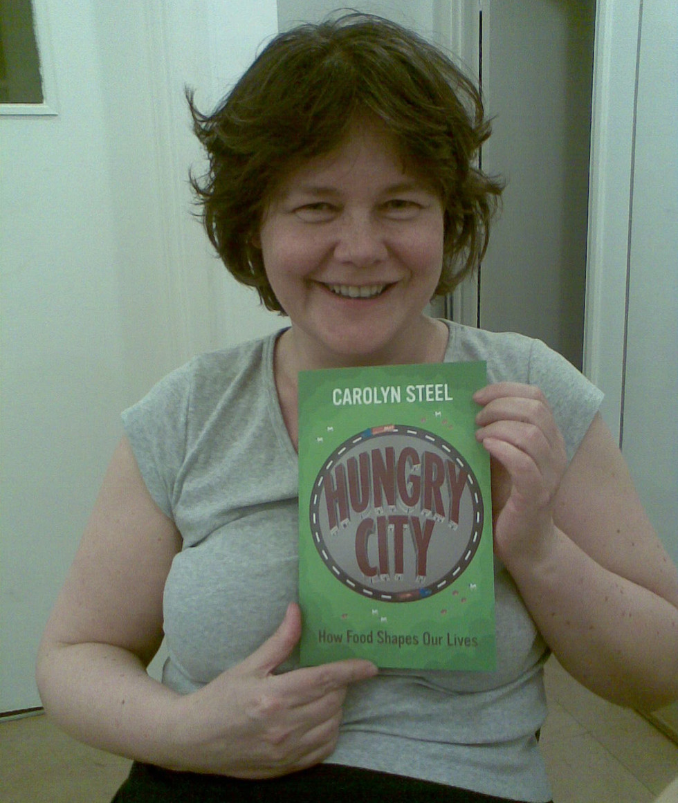 The first copies of Hungry City arrive, 2008