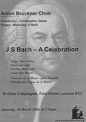 J S Bach - A Celebration