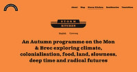 Talk for 'Storm Kitchen' event