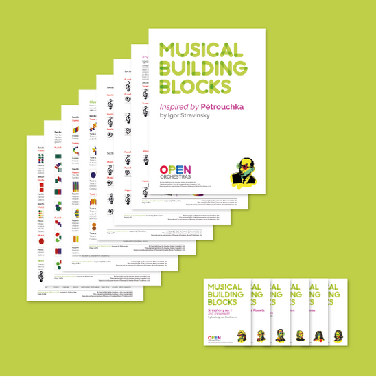 Open Orchestras Musical Building Blocks stack
