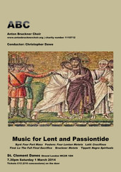 Music for Lent & Passiontide