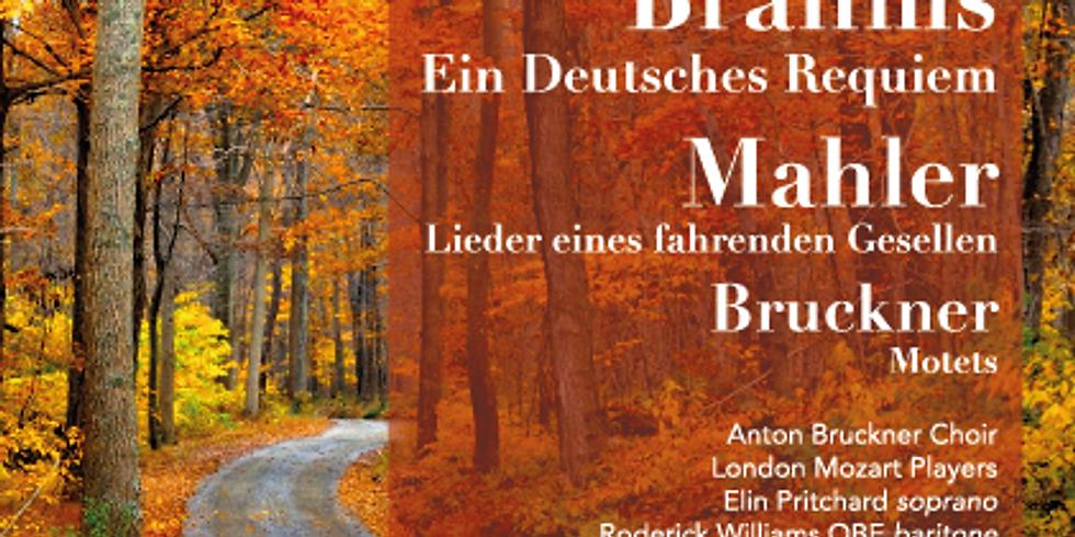 Brahms, Mahler and Bruckner