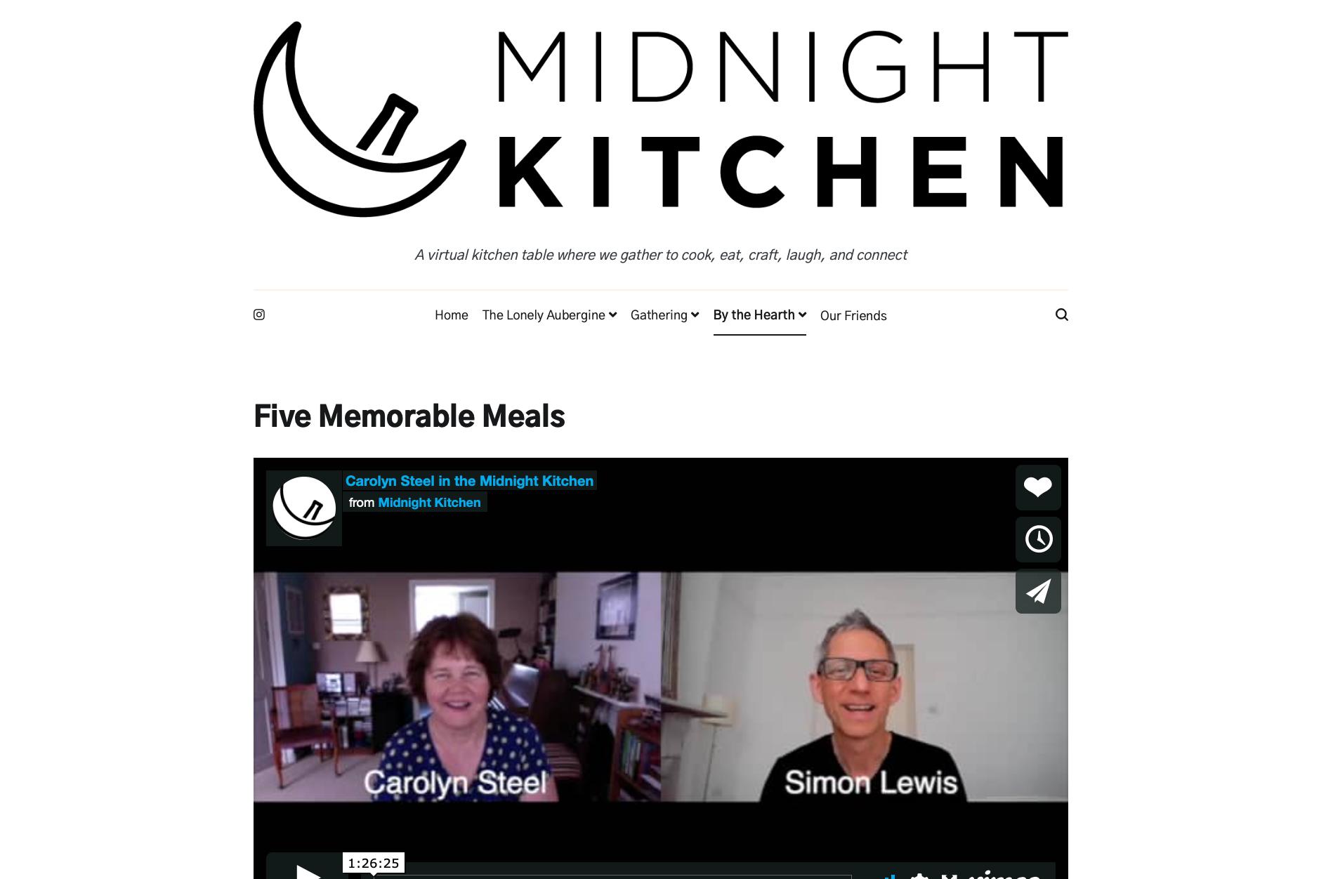 Midnight Kitchen: Five Memorable Meals