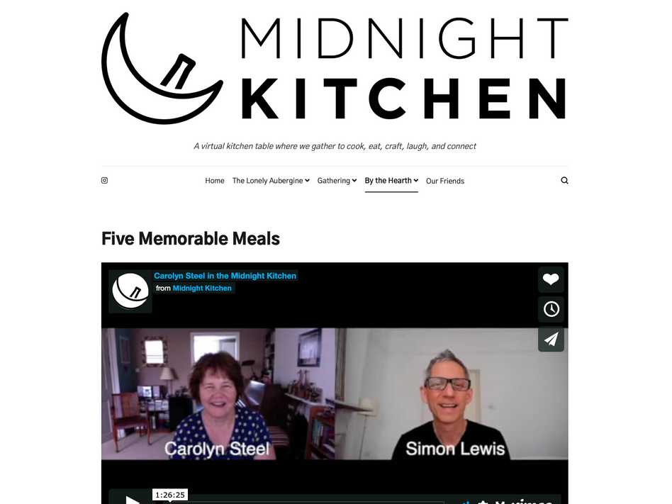 Midnight Kitchen: Five Memorable Meals