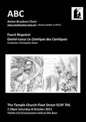 Fauré Requiem and Daniel-Lesur Le Cantique des Cantiques