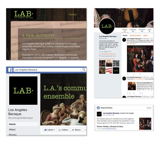 LAB branding online