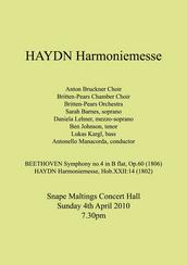 Haydn Harmoniemesse