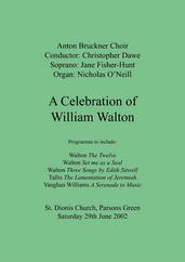 A Celebration of William Walton