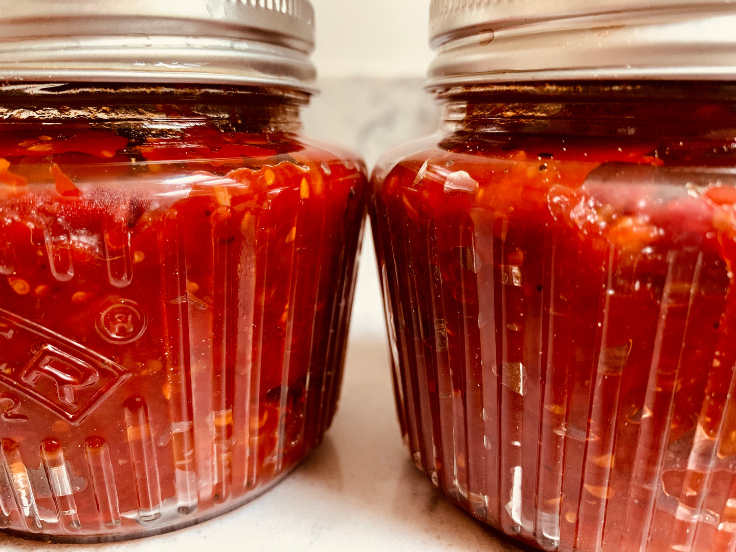 Tomato  and chilli sauce for pizza or pasta