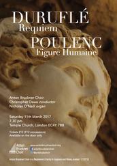 Duruflé Requiem & Poulenc Figure Humaine
