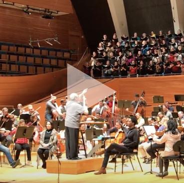 Brahms Requiem (rehearsal)