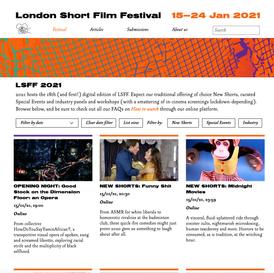 LONDON SHORT FILM FESTIVAL 2021