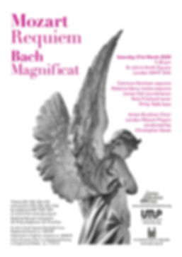 Mozart Requiem & Bach Magnificat, ABC/LMP/SJSS March 2020
