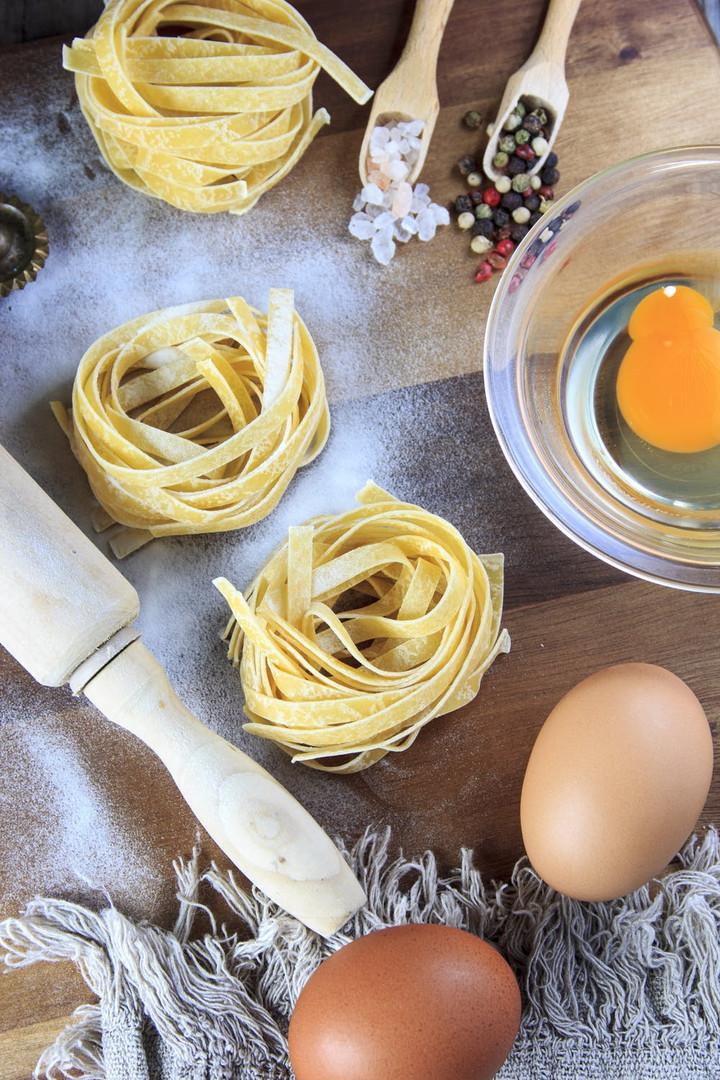 fresh egg tagliatelle nests