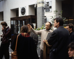 With Dalibor Vesely in Vienna, 1984