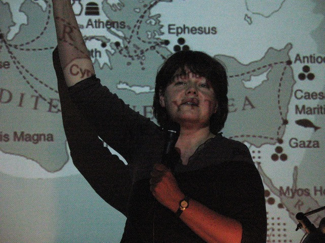 Lecturing on Rome, 2011