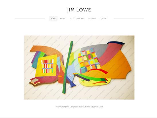 Jim Lowe home page