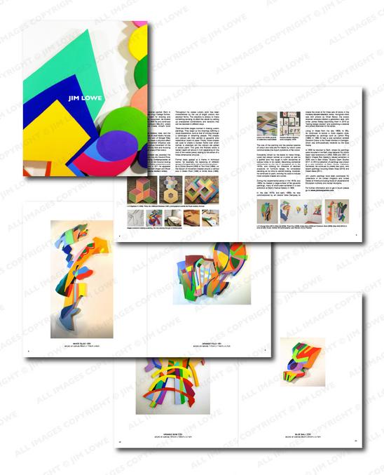 Jim Lowe catalogue pages
