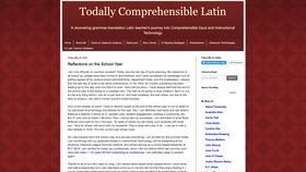 Todally Comprehensible Latin