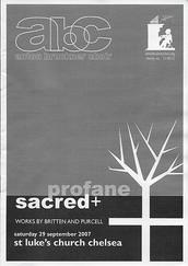 Sacred & Profane