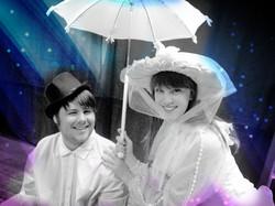 Justin & Erin as Mary & Burt
