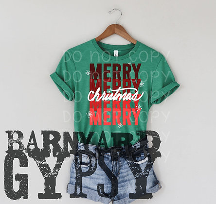 Lotsa MERRY Christmas Tee