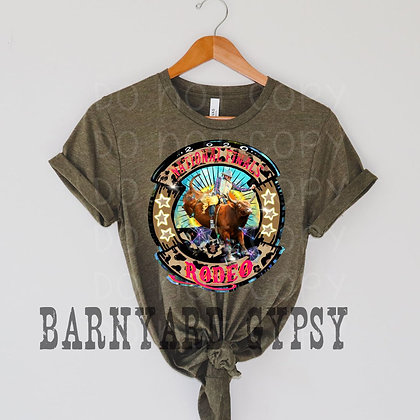 NFR Bull Rider Tee *Barnyard Gypsy ORIGINAL Design!