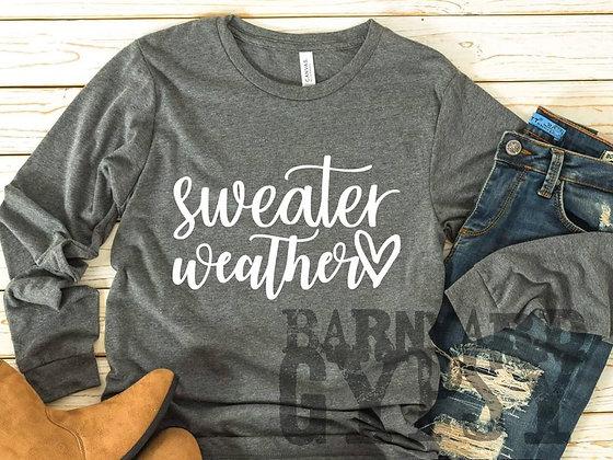 Sweater Weather Long Sleeve Tee