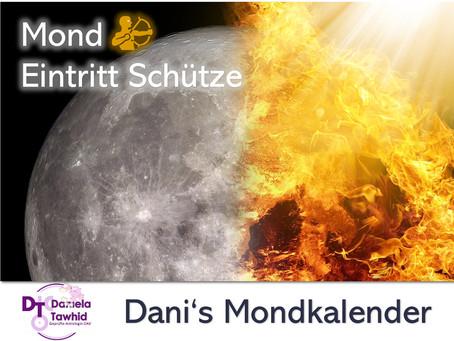 Mond Eintritt Schütze am 25.08.2020 (14:49 Uhr)