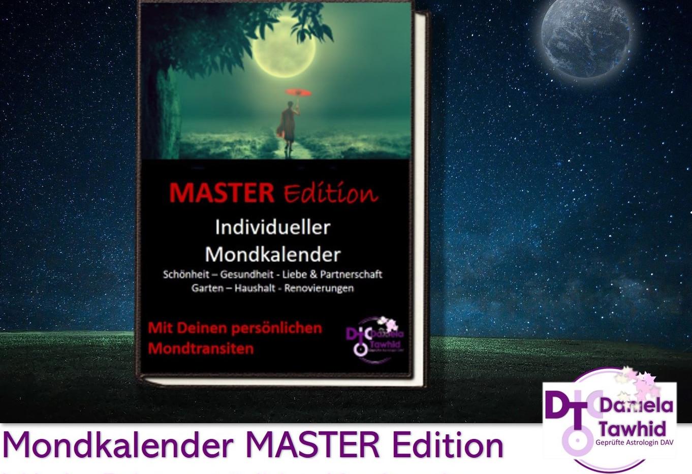Individueller Mondkalender - Master Edition