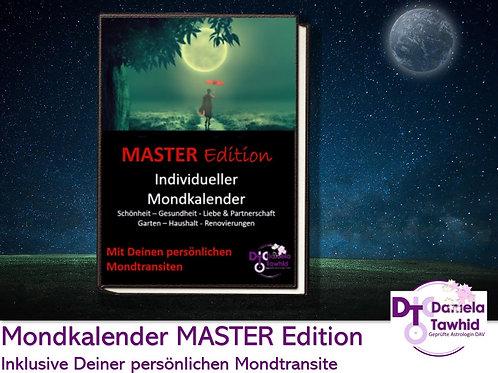 Individueller Mondkalender Master Edition