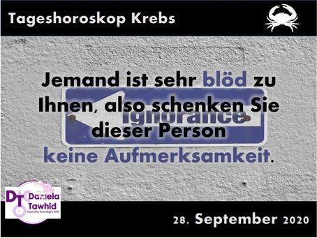 Tageshoroskop 28.09.2020 - Krebs