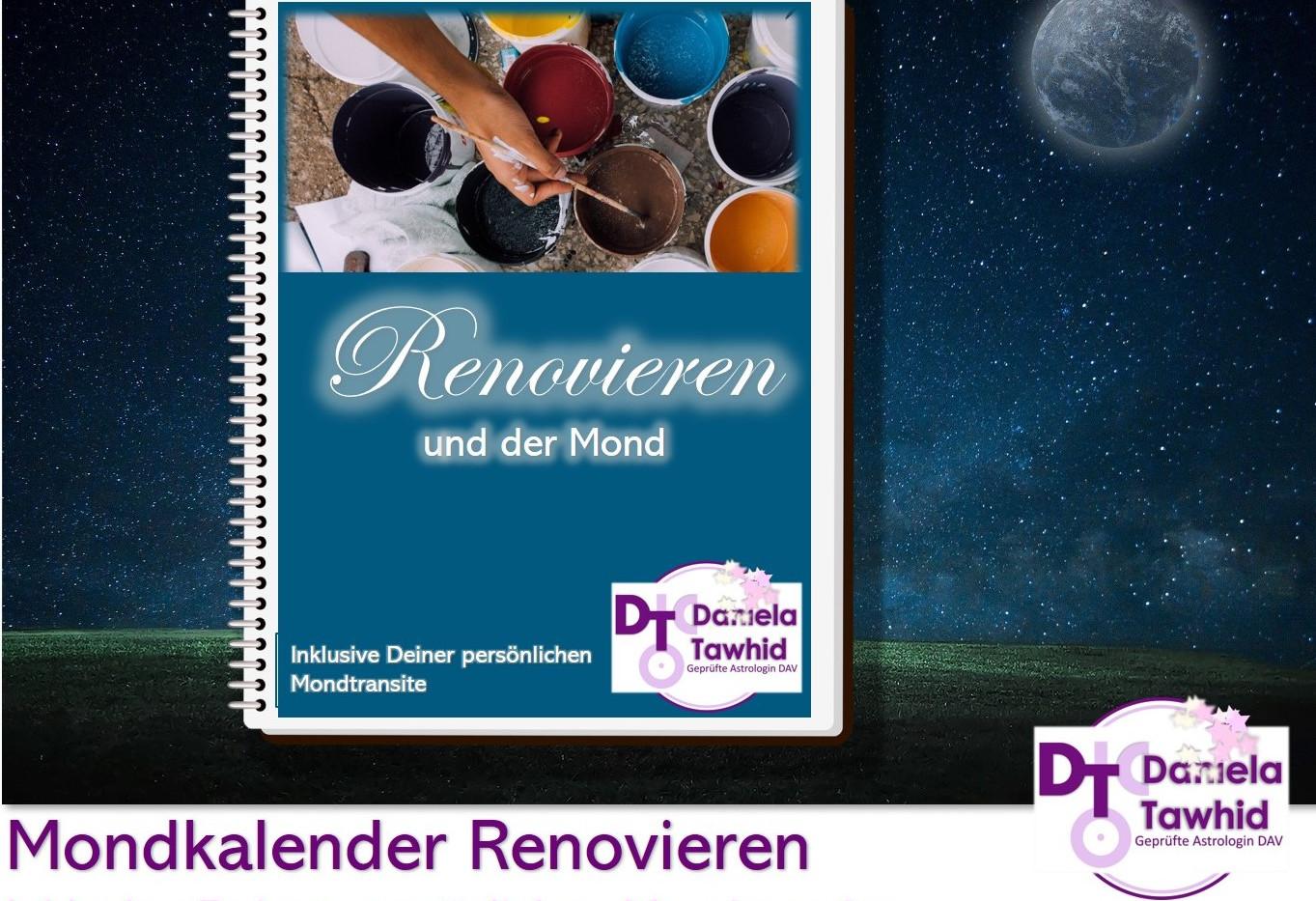 Renovieren und der Mond