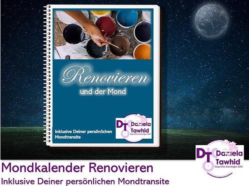 Renovieren mit dem Mond