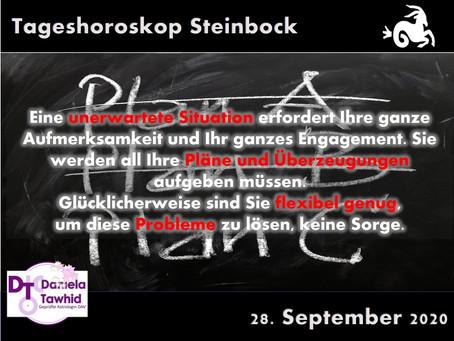 Tageshoroskop 28.09.2020 - Steinbock