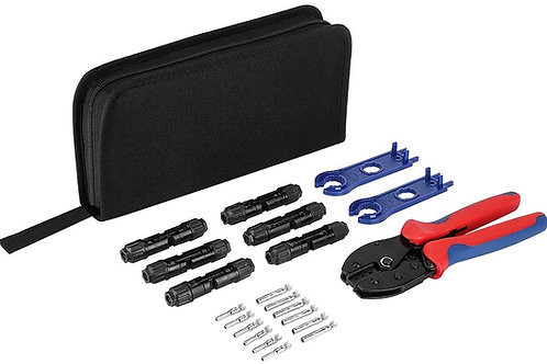 Solar Crimper Tool Kit for Solar Panel Cable Wire