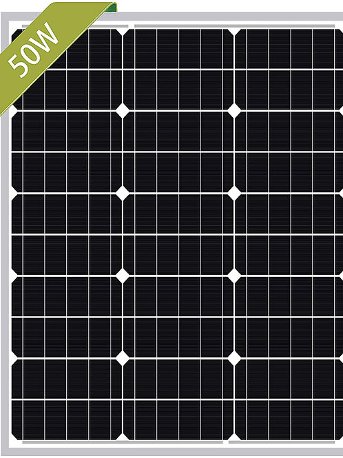 50W Newpowa (or similar)Mono Solar Panel 50 Watts Monocrystalline