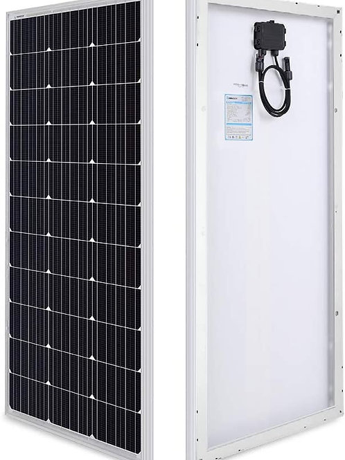 100W Renogy (or similar) 12 Volt Monocrystalline Solar Panel