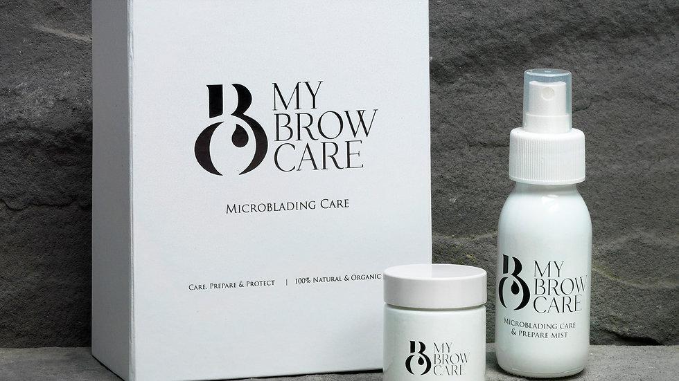MBC Prepare & care Box Set of Cleansing mist & Yarrow & Olive balm