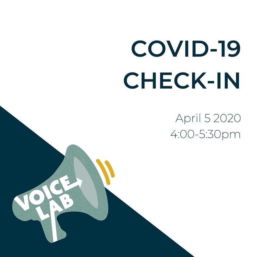 VoiceLab Social: Covid-19 Check-In