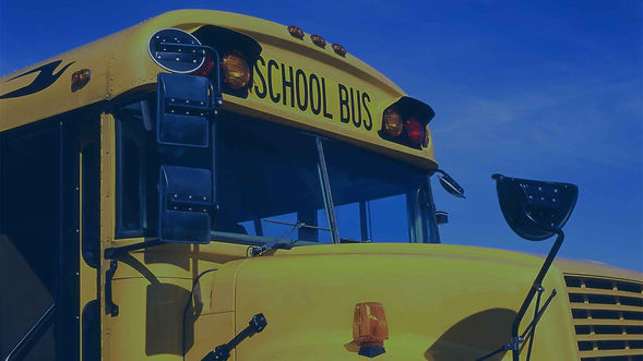 outside view of a school bus
