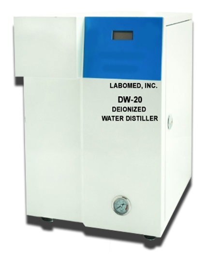 DE-IONIZED WATER DESTILLER