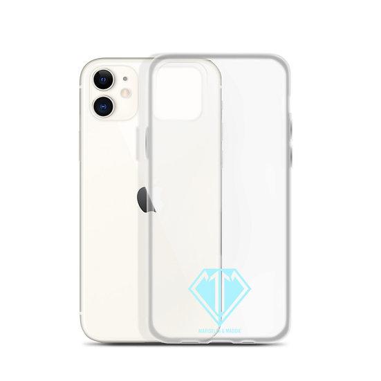 Blue logo iPhone Case