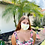 Thumbnail: Yellow Tie Dye Face Mask