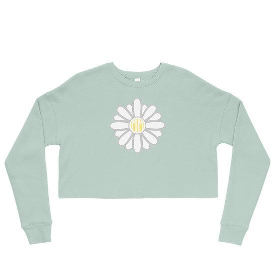 Daisy Crop Sweatshirt
