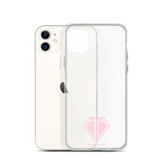 Pink Logo iPhone Case