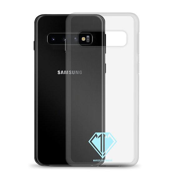 Blue Logo Samsung Case