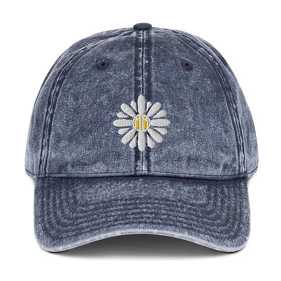 Daisy Vintage Cotton Twill Cap