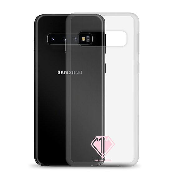 Pink Logo Samsung Case